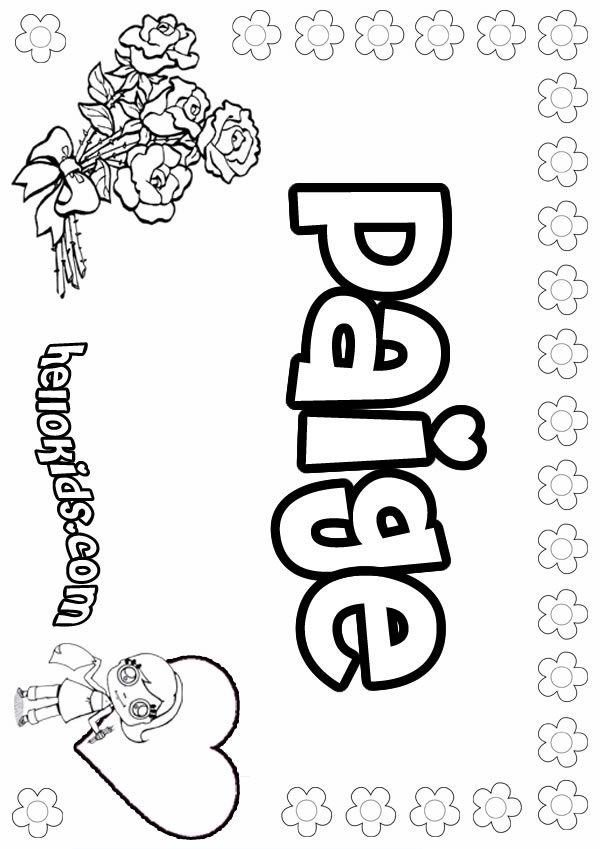 Printable Name Coloring Pages AZ Coloring Pages
