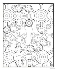 Free Printable Geometric Coloring Pages For Adults ...