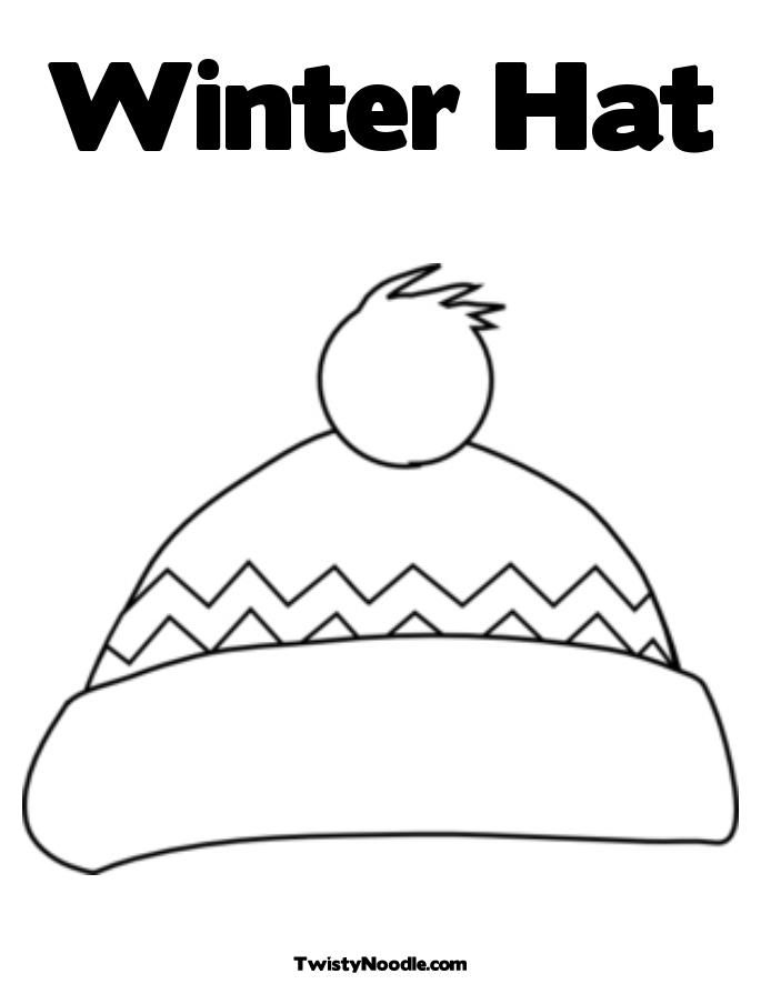 Conductors Hat Coloring Pages Clipart Library