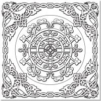 Adult Coloring Pages Free Celtic - Coloring Home