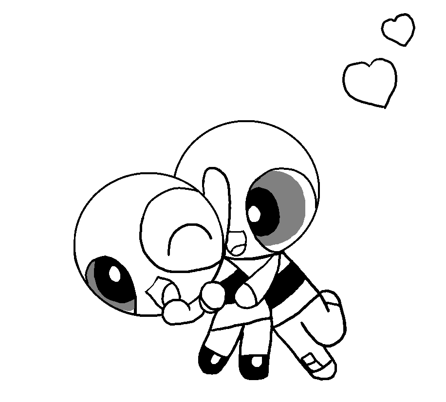 Ppg Ms Paint Base Sketch Coloring Page