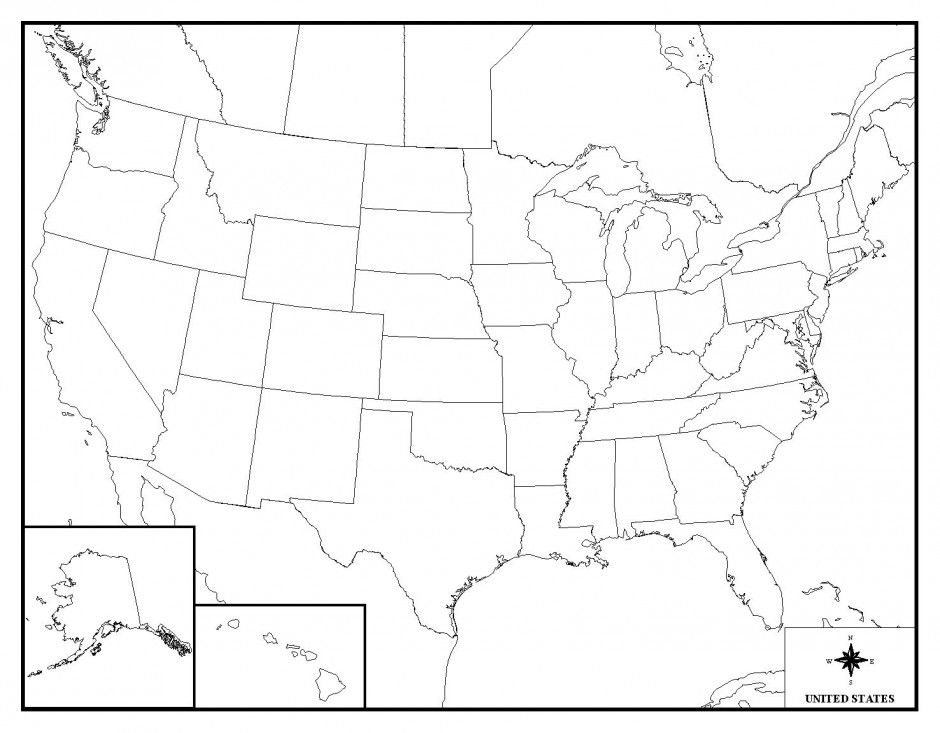 United States Map Printable With Capitals Games For Usa