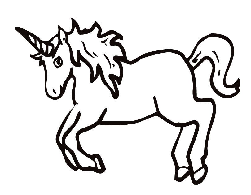 Black And You Cute Color White Unicorns Can Drawings