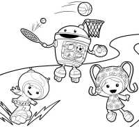 Nick Jr Free Coloring Pages - AZ Coloring Pages