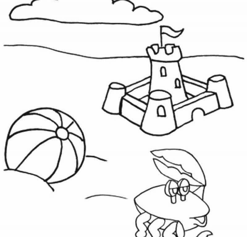 1st Grade Fun Summer Coloring Sheets Coloring Pages