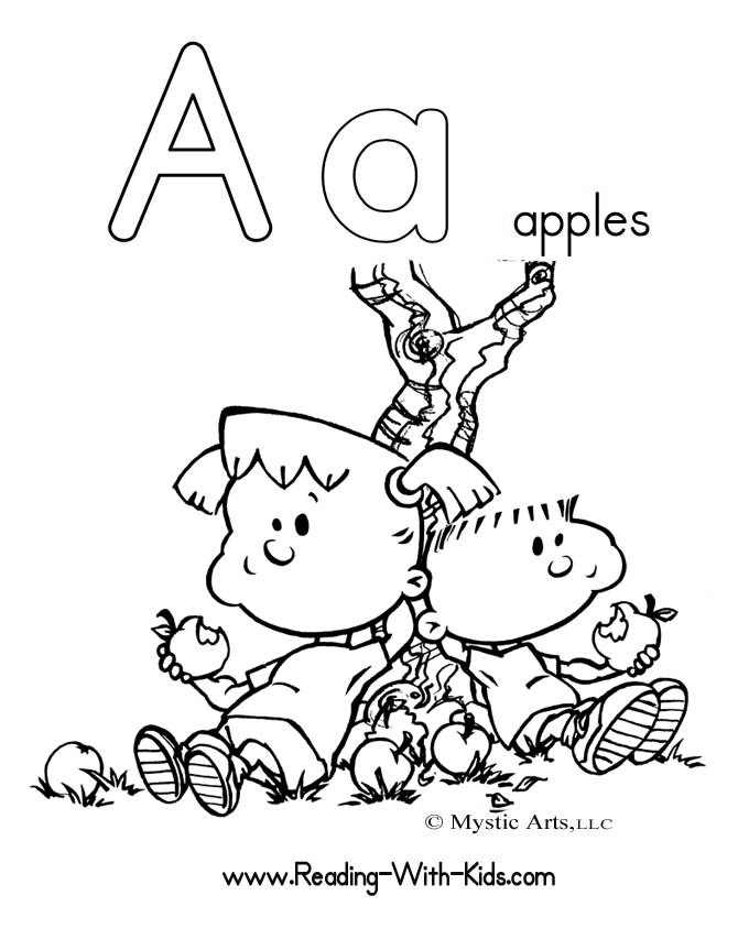 Geography Blog: Letter A Coloring Pages