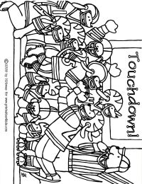 Football Coloring Pages Printable - Coloring Home