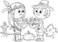 Thanksgiving Coloring Pages To Print For Free - Coloring Home