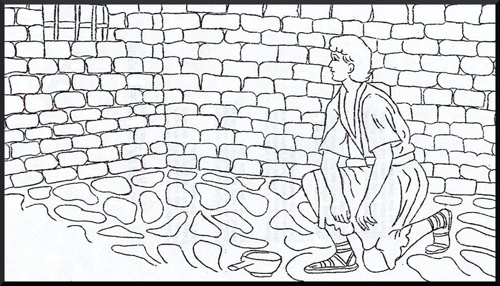 Peter In Prison Bible Story Coloring Pages Coloring Pages