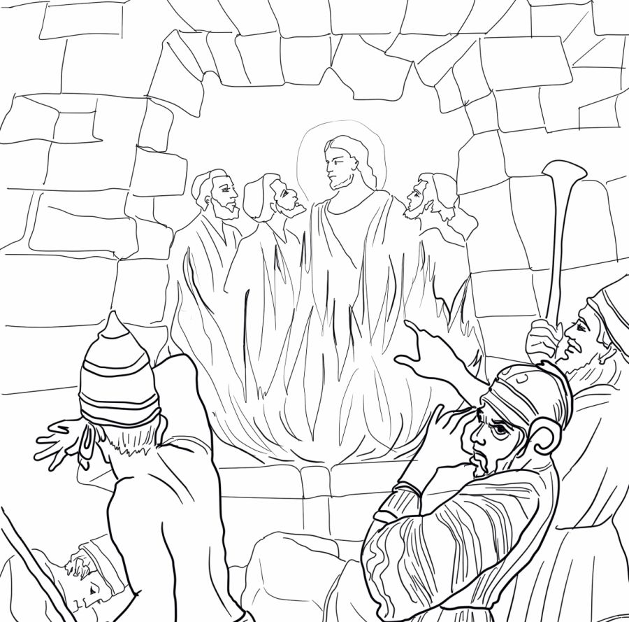 Shadrach Meshach And Abednego Coloring Pages Coloring Pages