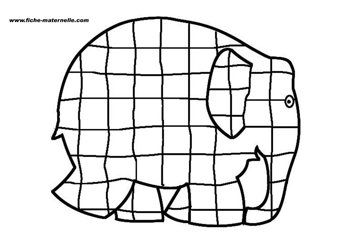 Elmer By David Mckee Coloring Pages