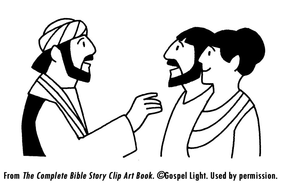 Philip And The Ethiopian Eunuch Coloring Page Coloring Pages