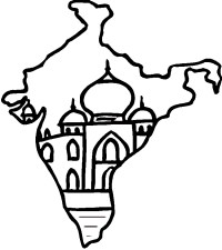 India Coloring Pages - AZ Coloring Pages