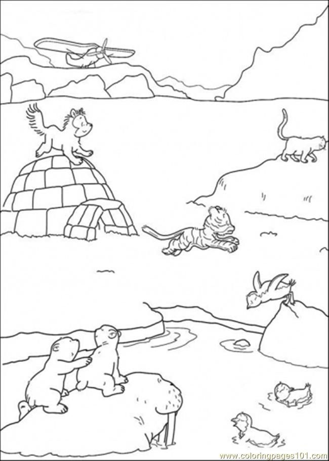 Winterarctic animal craft ideas day de jongs, i love lucy coloring pages
