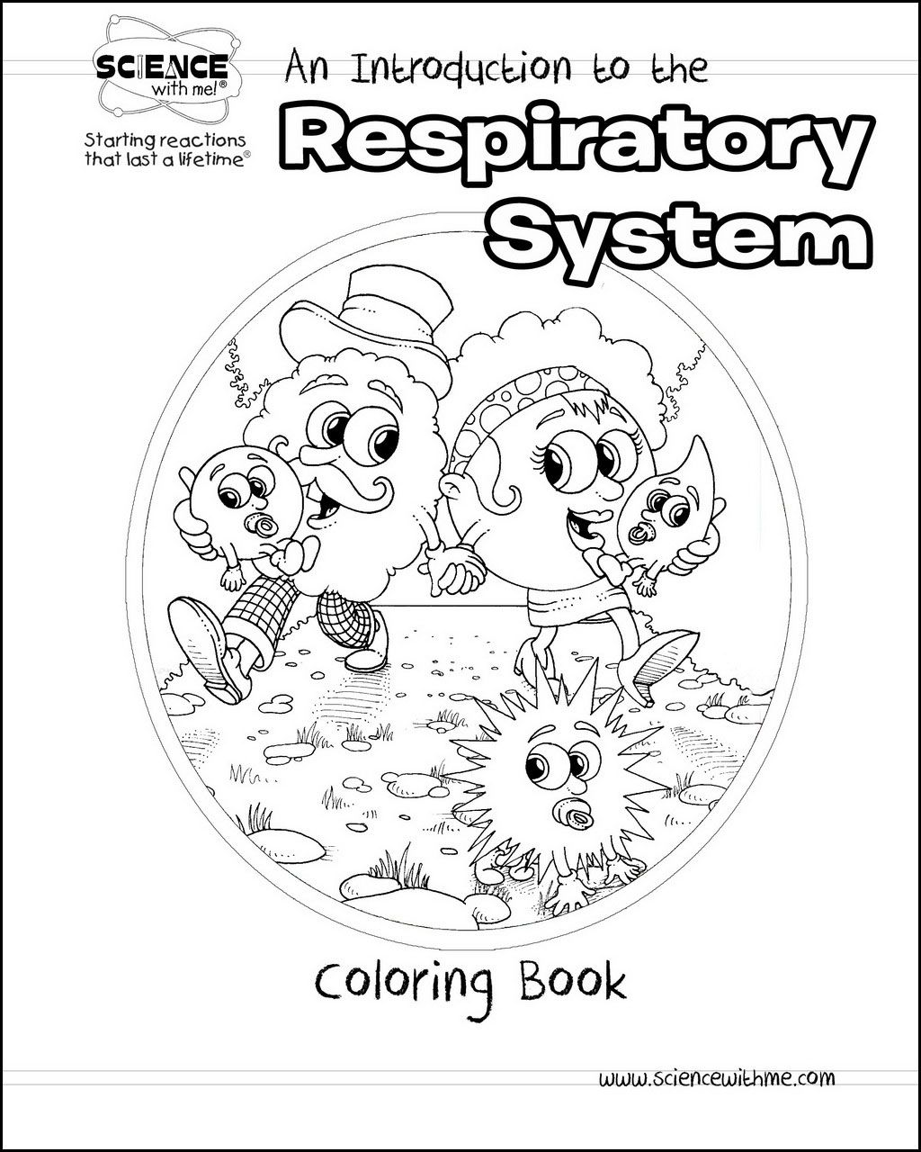 Respiratory Coloring Pages Coloring Pages