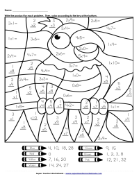 Printable Coloring Pages Color By Number - Coloring Home