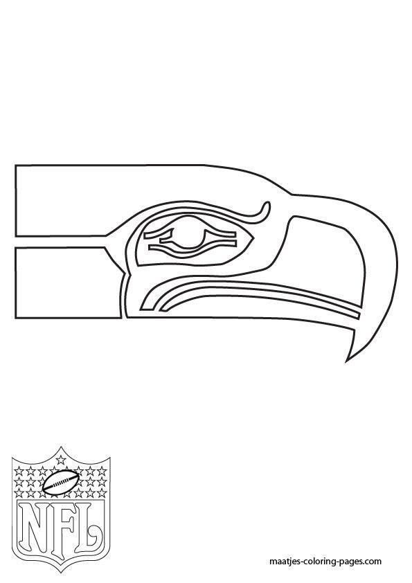Seahawks Football Russell Wilson Jersey Coloring Pages