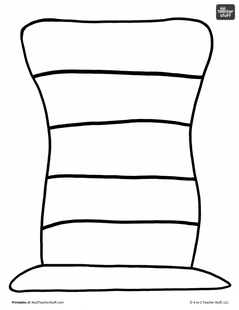 Cat In The Hat Coloring Pages Free Printable Coloring Home