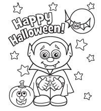 Halloween Coloring Pages Free Printable - Coloring Home