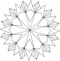 Geometric Coloring Pages For Adults - Coloring Home