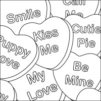 Valentine Heart Coloring Pages - AZ Coloring Pages