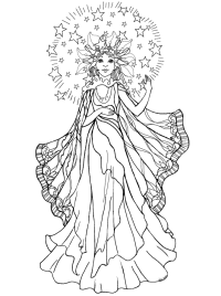 Angel Coloring Pages For Adults - AZ Coloring Pages