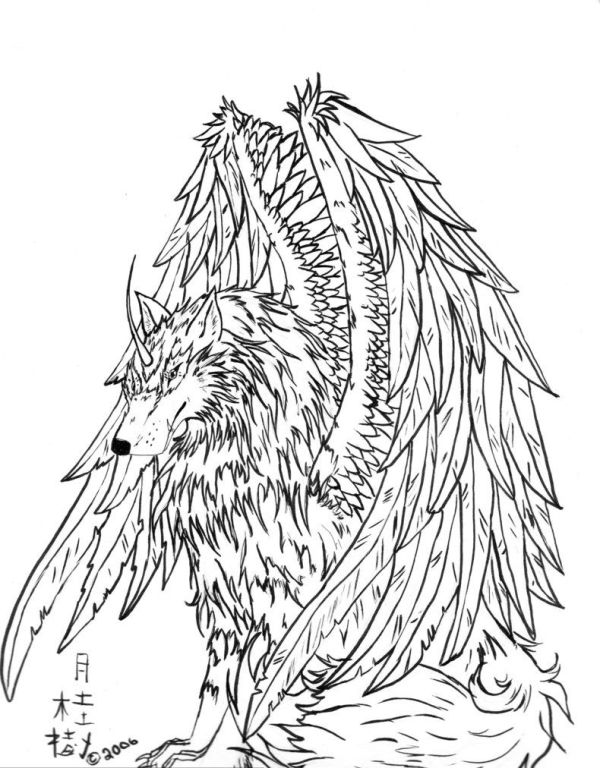 20 Fire Wolf Coloring Pages Ideas And Designs