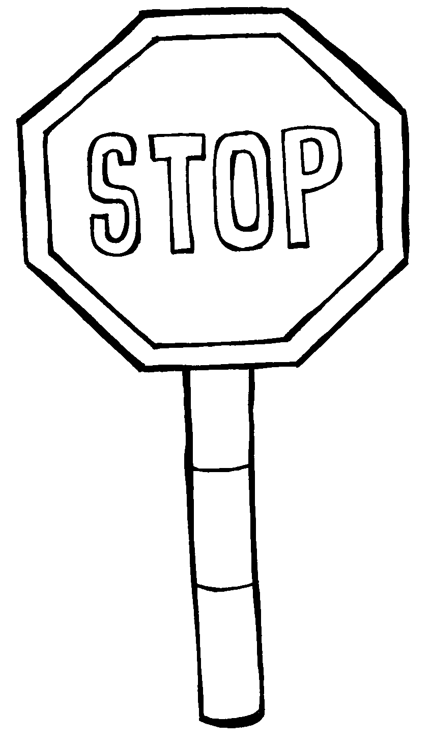 Safety Patrol Clip Art Black And White