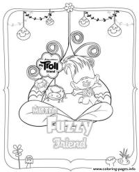 Trolls Movie Coloring Pages - Coloring Home