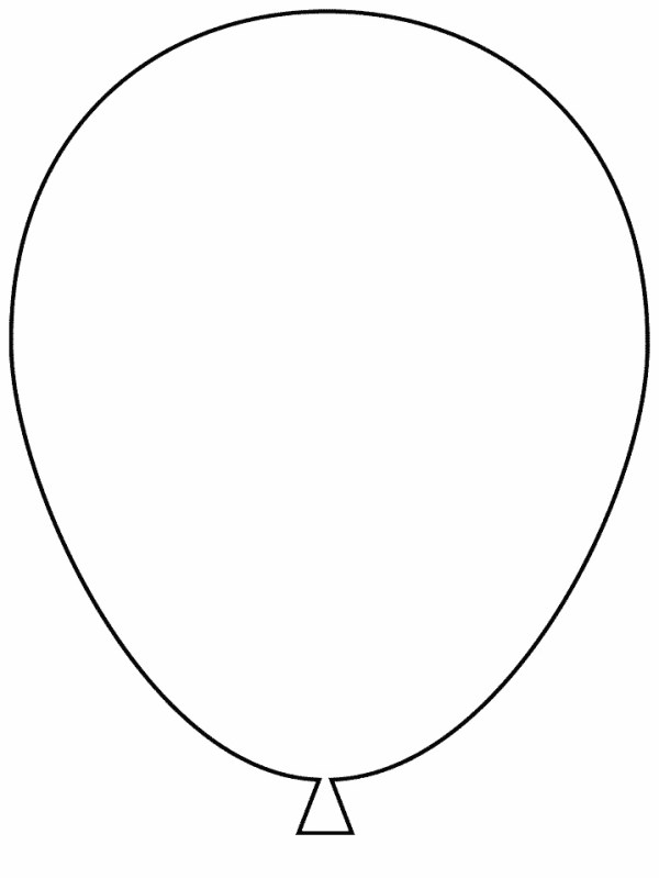 balloon template printable - az