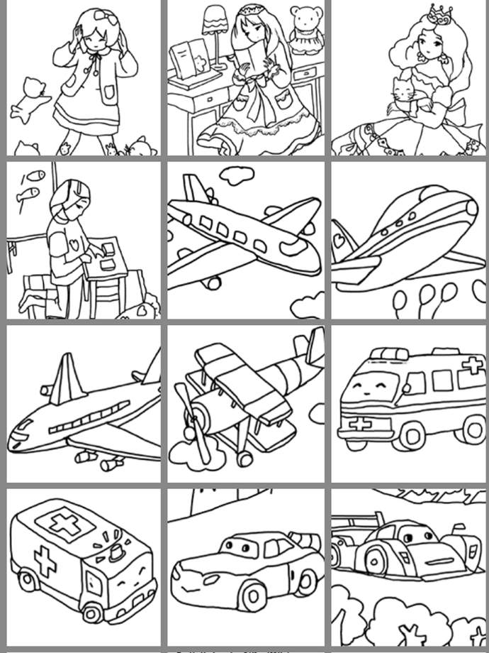 Free coloring pages of an iphone