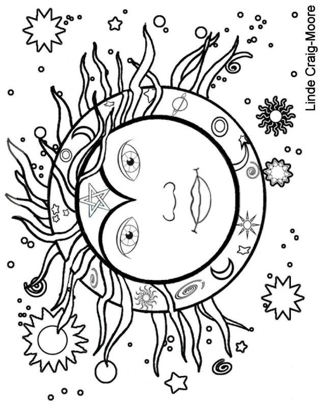 wiccan coloring pages coloring pages