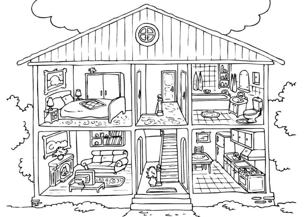 Little House On The Prairie Coloring Pages Coloring Pages