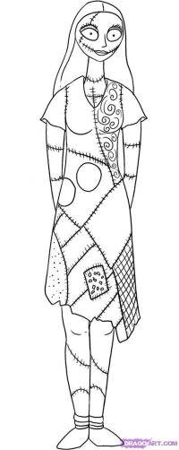 Jack Skellington Head Coloring Pages - Coloring Home