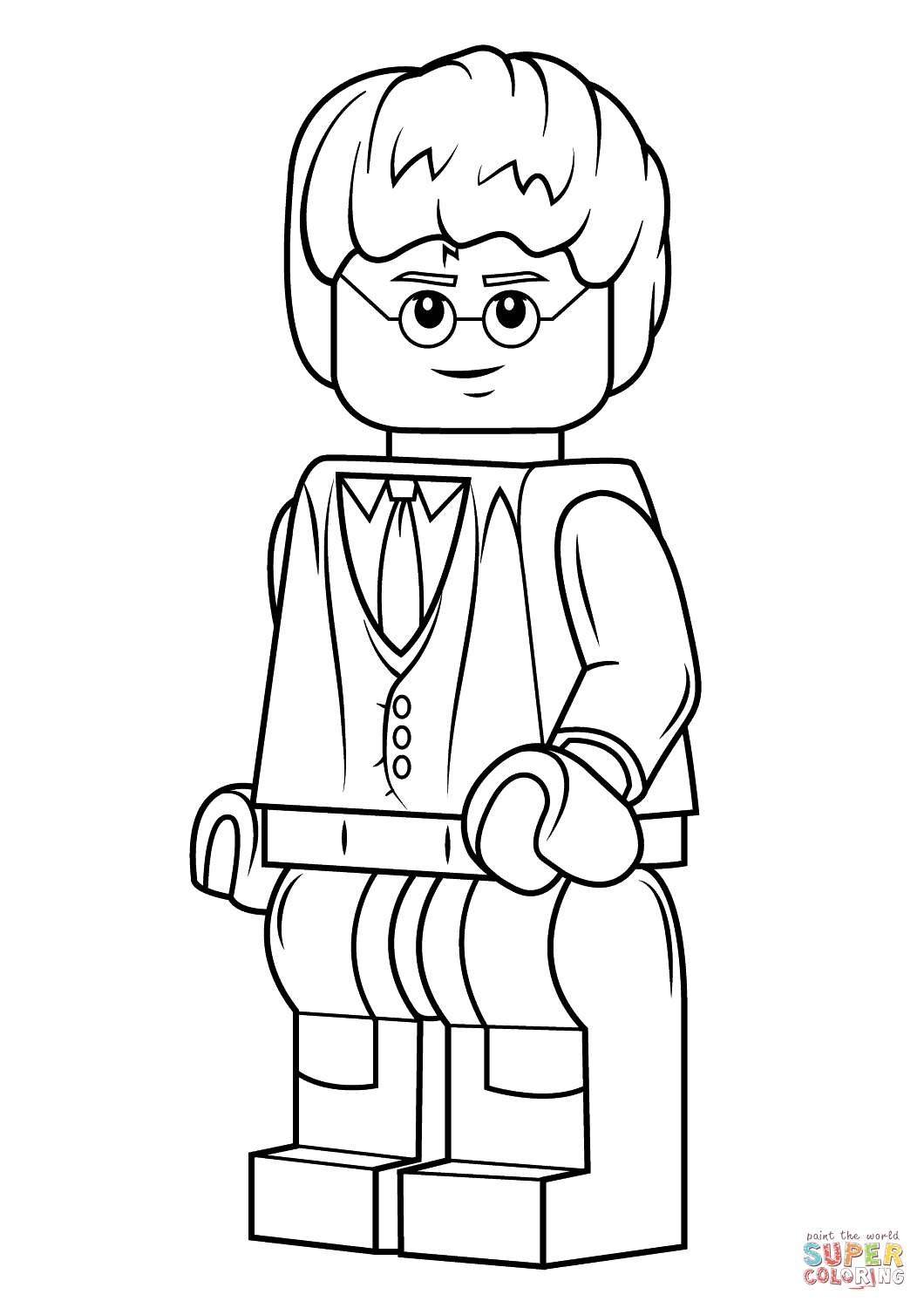 Top 20 Free Printable Harry Potter Coloring Pages Online | 1500x1060