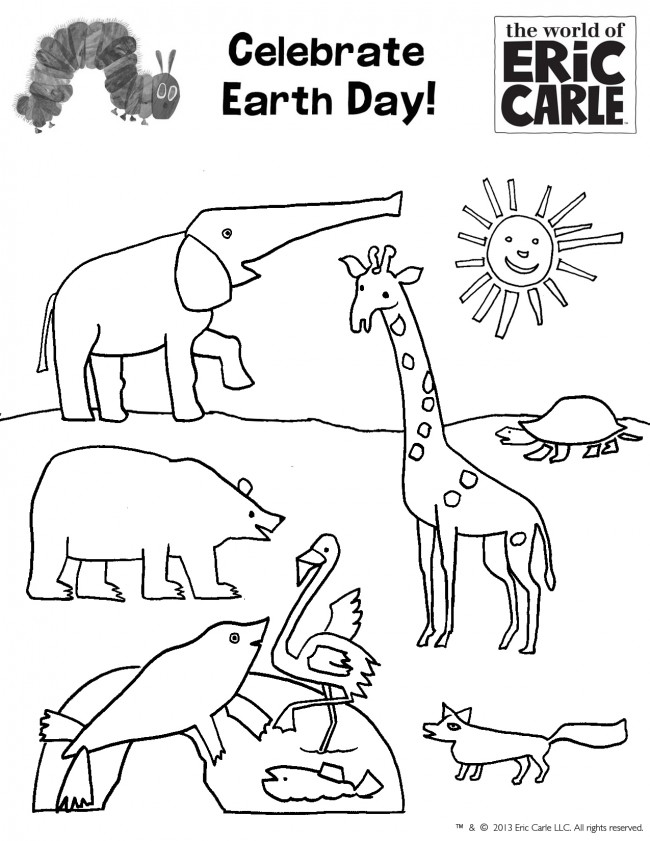 Eric Carle Printable Coloring Pages Coloring Pages