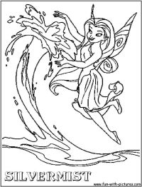 Silvermist Coloring Pages - Coloring Home