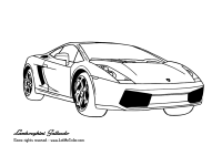 Coloring Pages Lamborghini Cars - Coloring Home