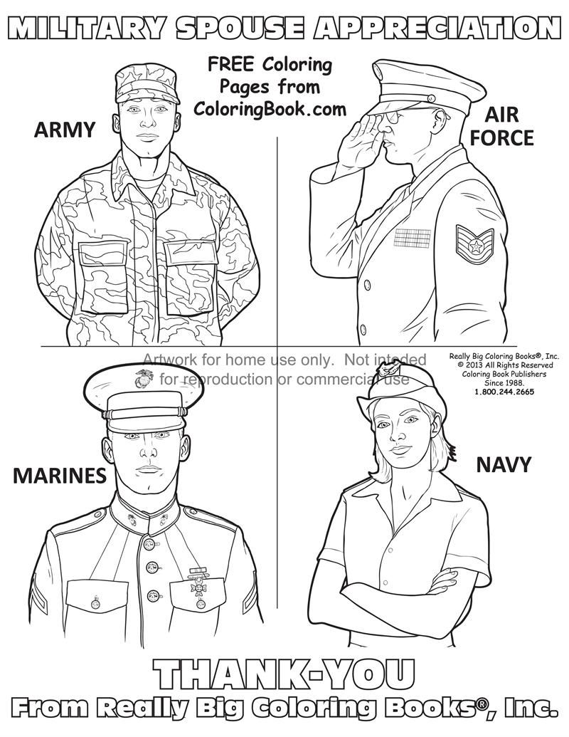 Armed Forces Day Coloring Pages Coloring Home