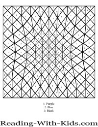 Difficult Color By Number Printables - AZ Coloring Pages