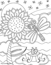 Doodle Art Alley Coloring Pages - Coloring Home