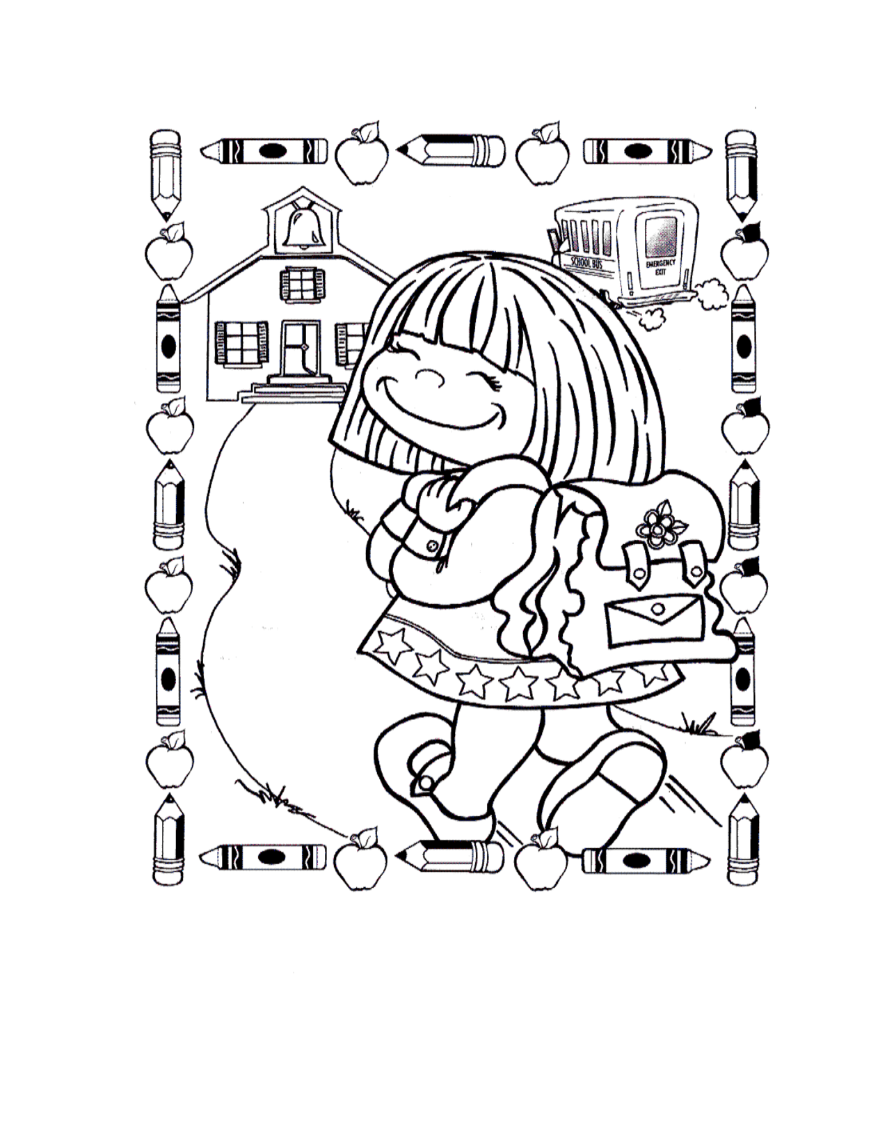 Free Coloring Pages For First Grade