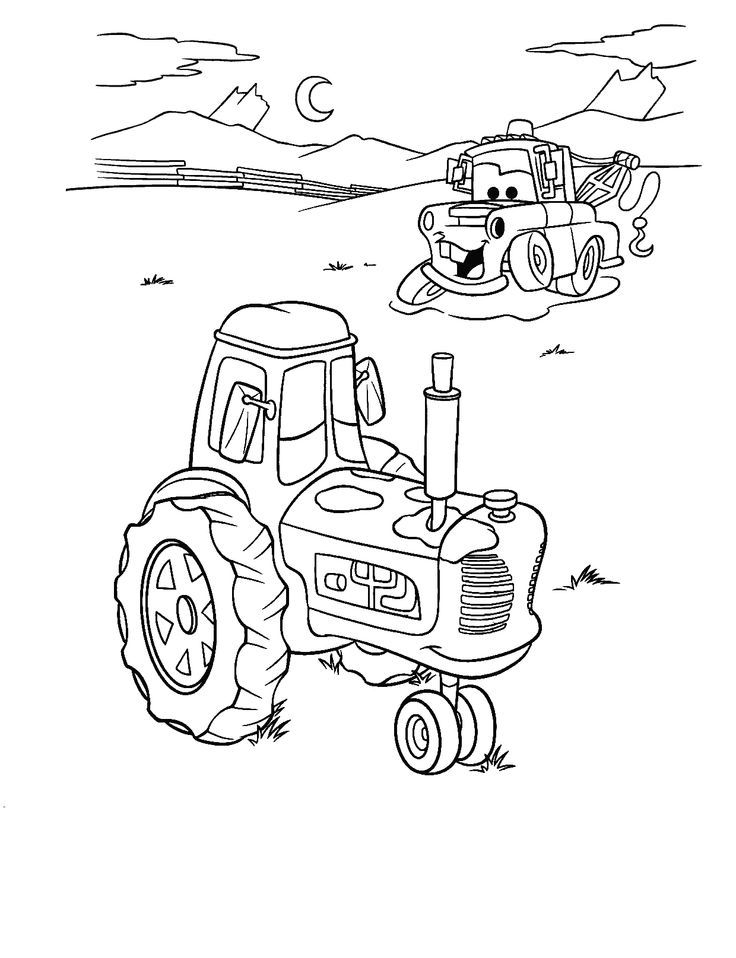 Tractor Coloring Colouring Pages Of Parts Case Ih Tractors