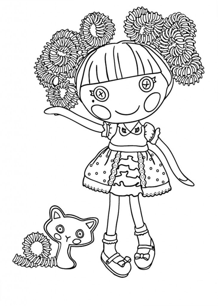 Lalaloopsy Coloring Pages Download And Print Lalaloopsy