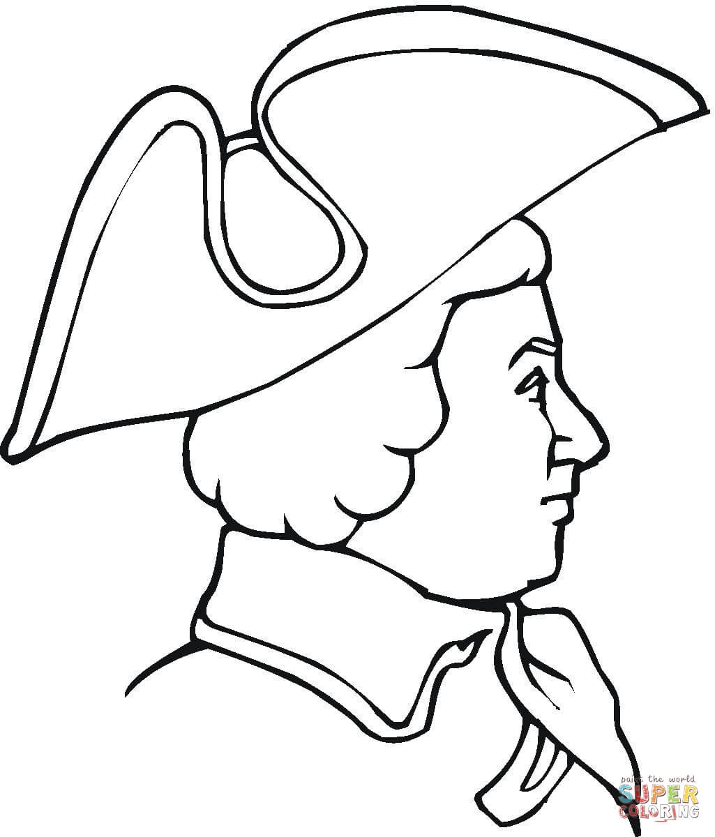 The American Revolution Coloring Page