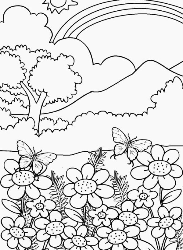 20+ Adut Nature Printable Coloring Sheets Ideas and Designs