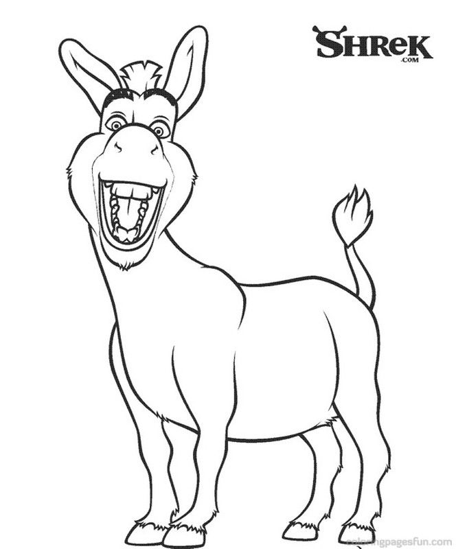 Dreamworks Shrek 3 Coloring Pages Coloring Pages