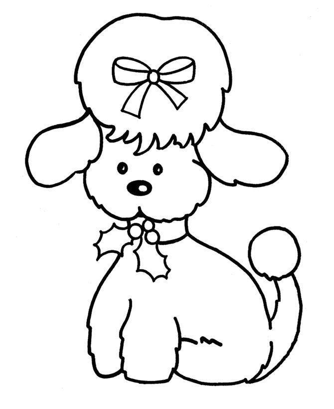 Poodle Skirt Coloring Page Coloring Home