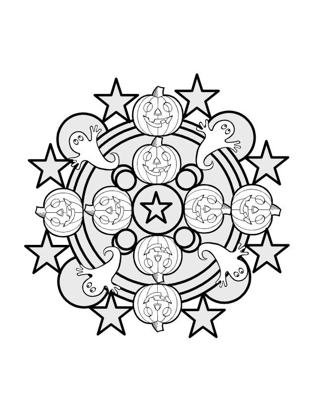 Kaleidoscope Coloring Pages Coloring Home