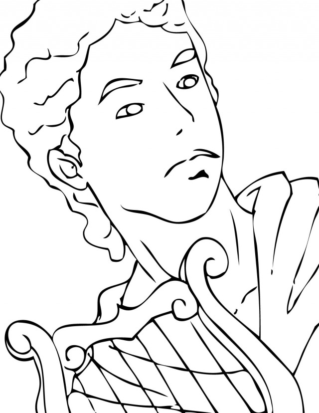 Free Coloring Pages Of Greek God Apollo